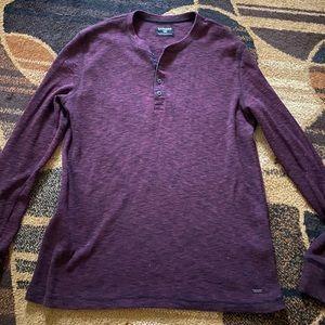 Mens Express Long Sleeve Shirt Size Large